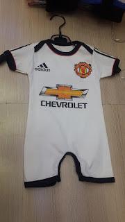 gambar detail jersey bayi balita kaos bola anak-anak Kaos jumper Bayi Manchester united away Adidas terbaru musim 2015/2016 di enkosa sport toko online jersey bola terpercaya