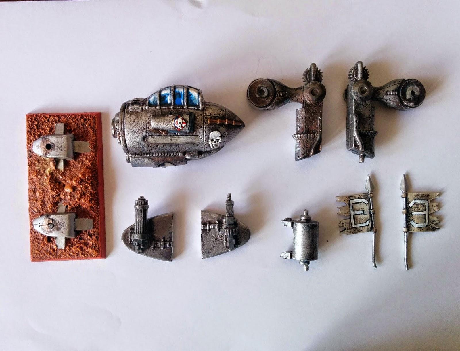 Warzone - Hurricane Battlewalker - Imperial - WIP