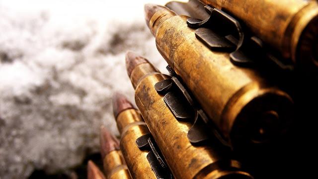Military Ammo Bullets Wallpaper