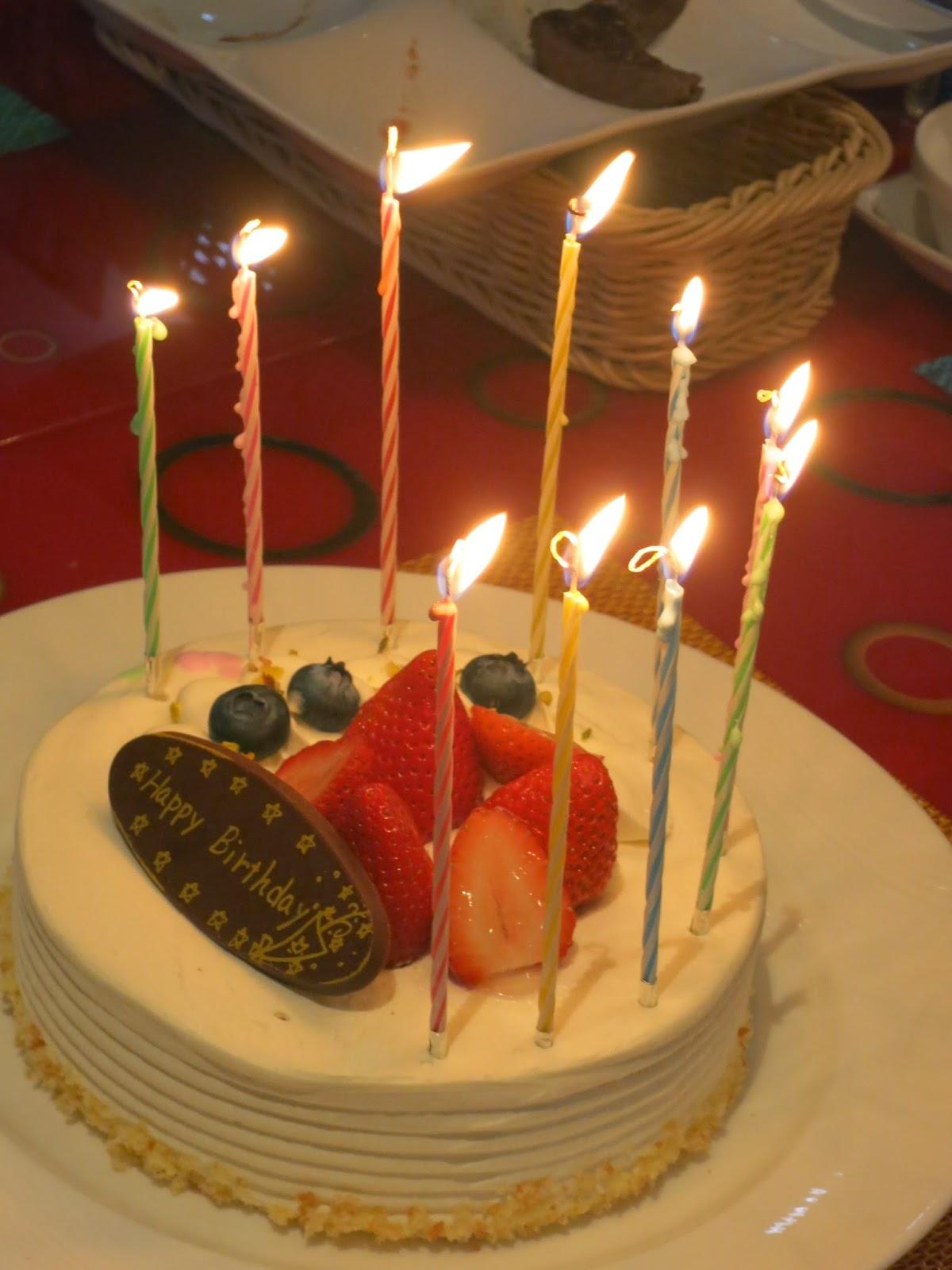 Birthday Cake For Jaan ~ Splash of yellow food trip in japan