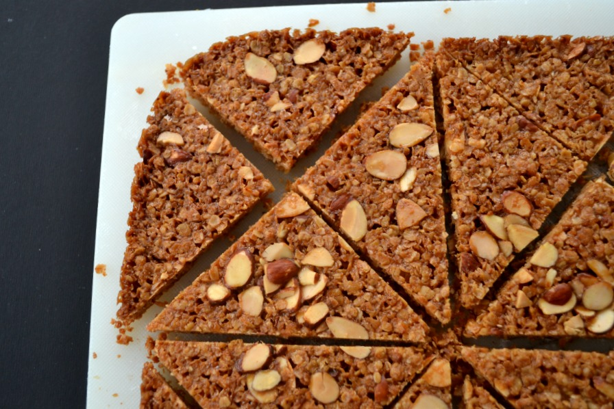 British flapjacks. Lucy Mercer/A Cook and Her Books