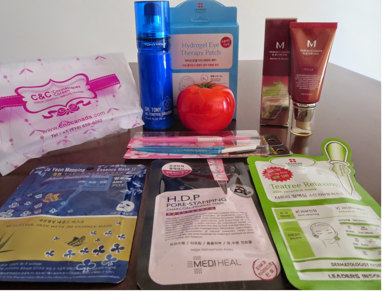 a picture of Korean beauty products