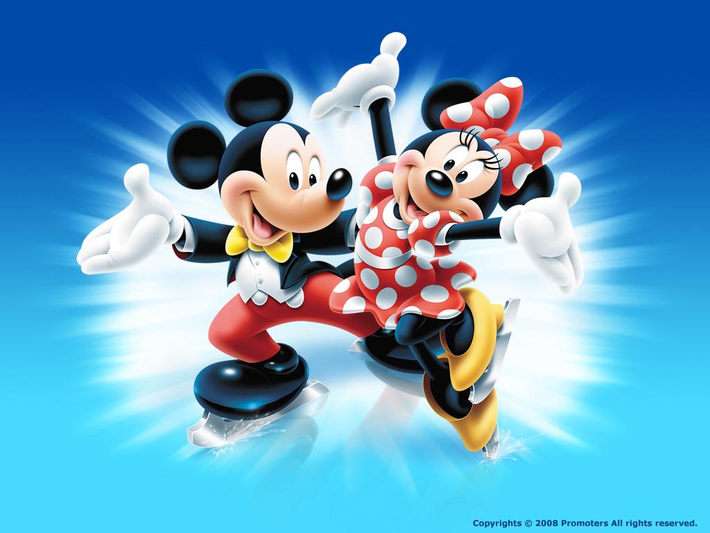 Disney  Mickey E Minnie Mouse