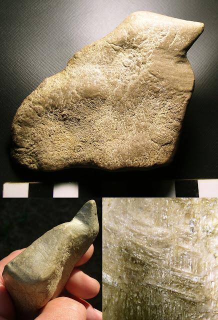 Limestone Figure, Muskingum County, Ohio