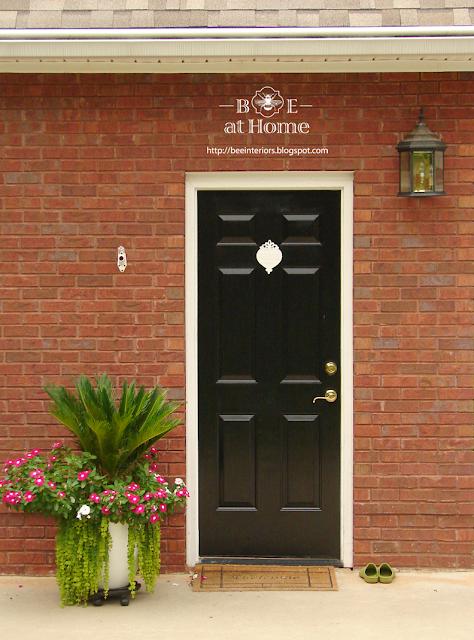 b e interiors garage door reveal
