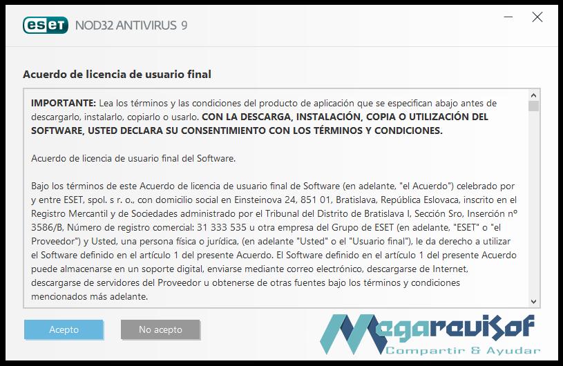 eset nod32 antivirus 9 username and password 2017