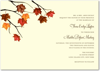 Autumn Bridal Shower Invitations9