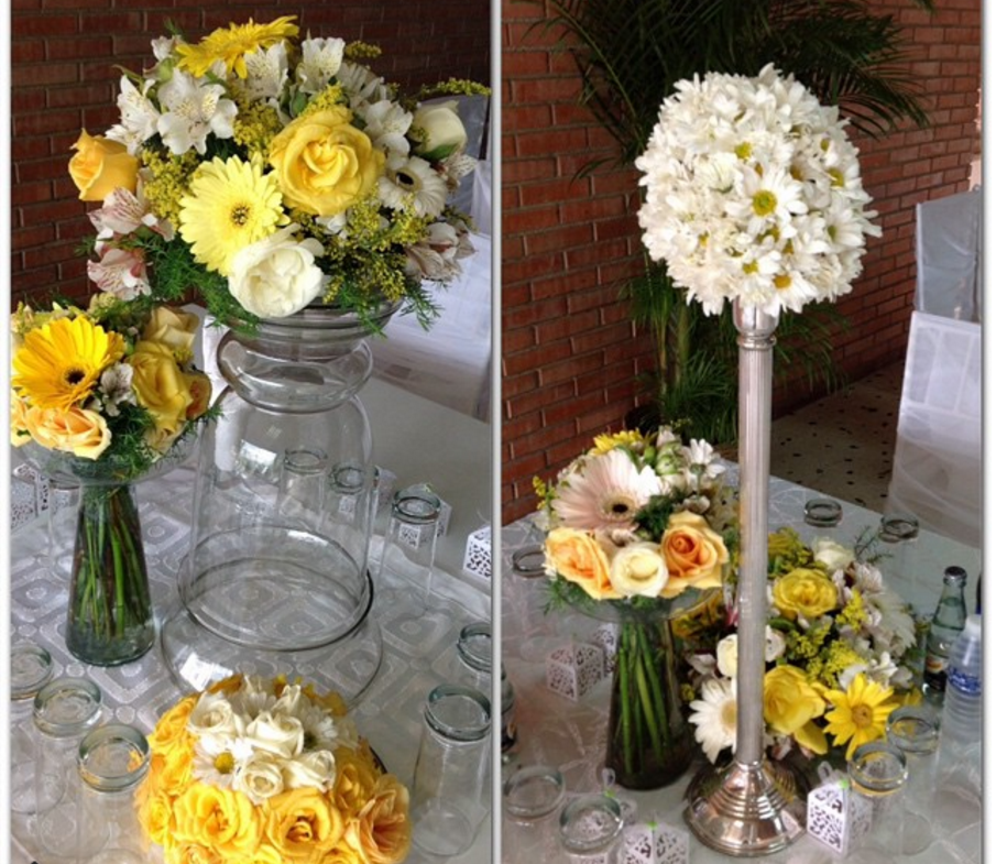 10 decoraciones en amarillo y blanco - Decoracion en amarillo ...