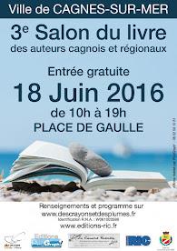 Salon du livre de Cagnes sur Mer