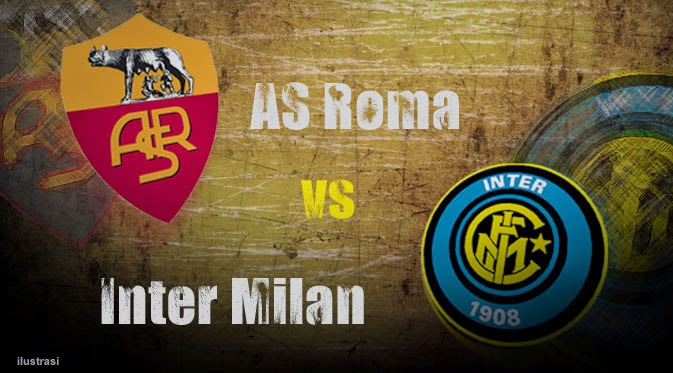 Poker Online : Prediksi Skor AS Roma vs Inter Milan 1 Desember 2014