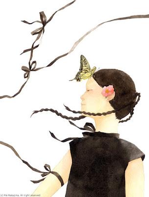 Rie Nakajima日本女插畫師-中島理惠 - milk  - ☆ Milk ☆ 平平。淡淡。也是真。