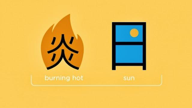 Горячий + солнце = рассвет