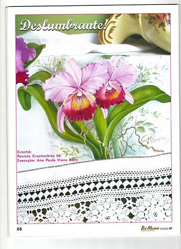 Como pintar orquídeas