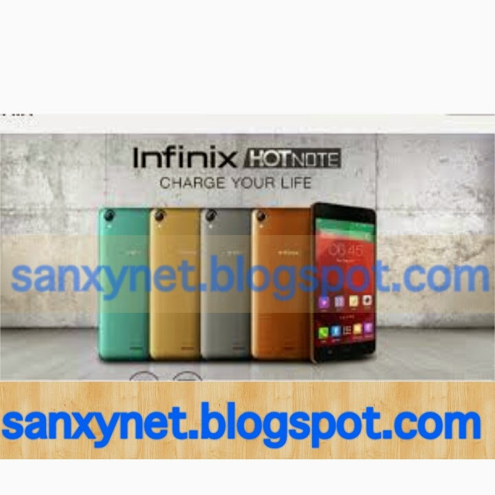 Infinix hot note manual pdf