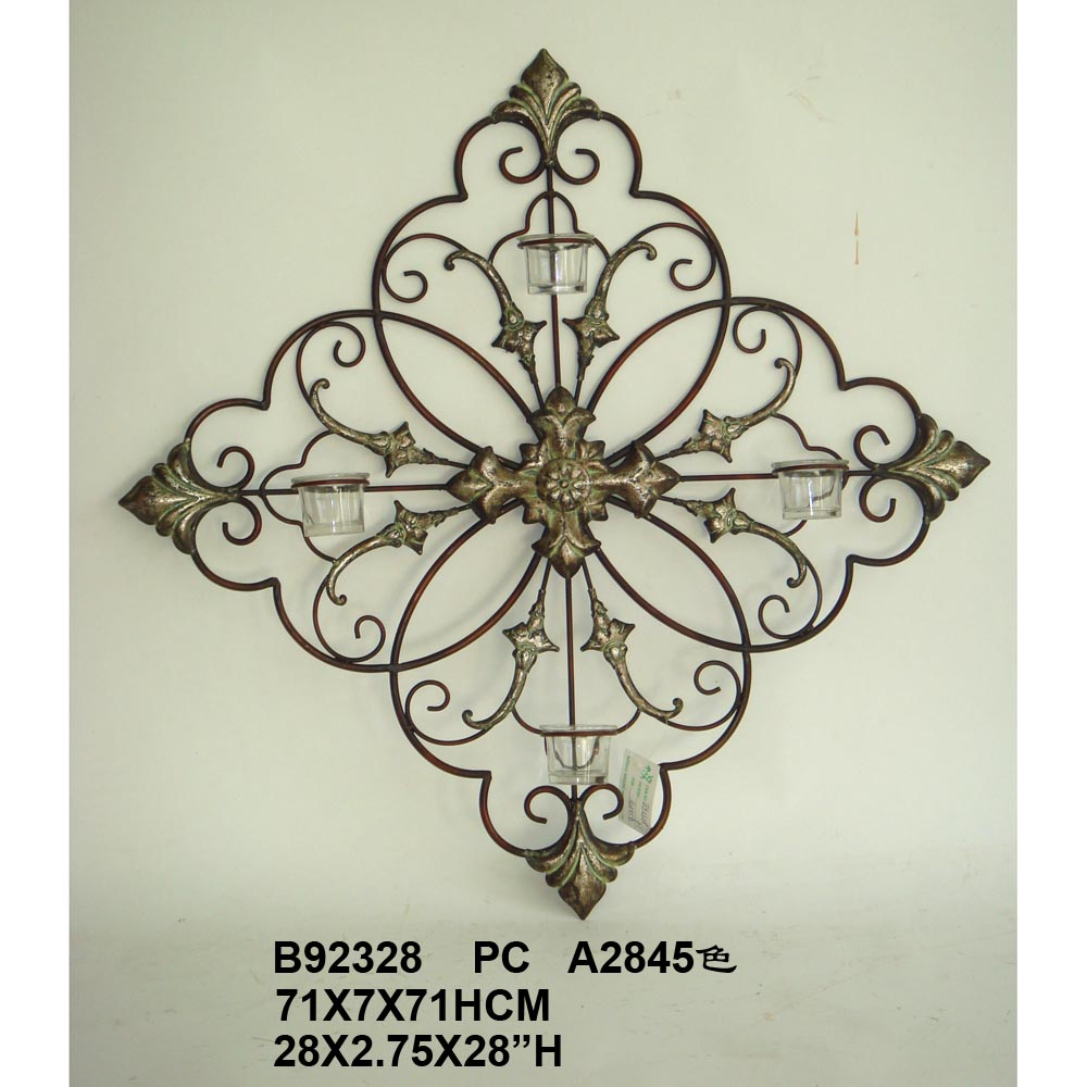 Ornamental Iron Wall Decor Glamorous Metal Wall Decor  Home Wall Decor Ideas Design Inspiration