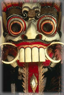 barong mask.293x432 7 TOPENG PALING MENYERAMKAN DI DUNIA