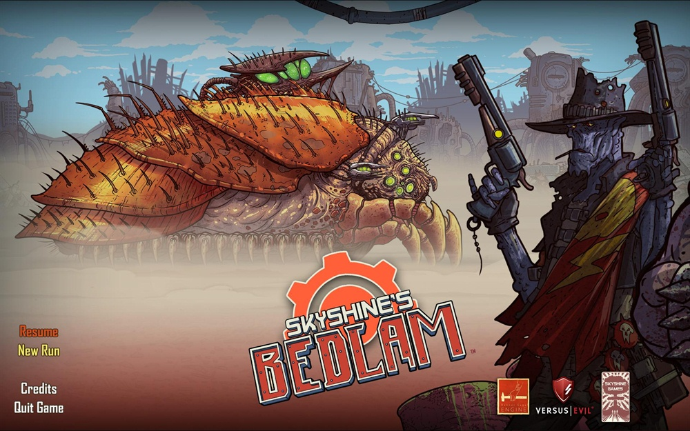 Skyshines Bedlam PC Game Free Download Poster