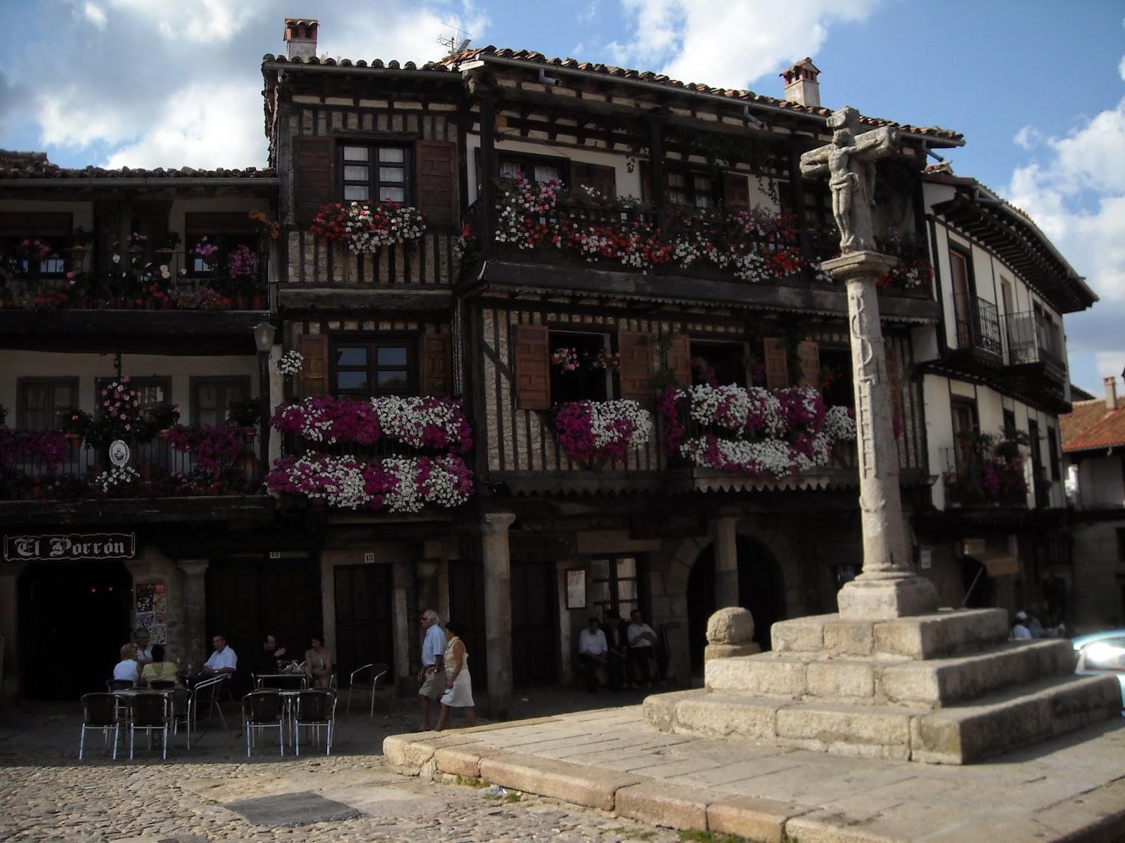 Plaza Mayor de La Alberca, Salamanca
