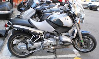 Tapizar asiento de moto de R1200R