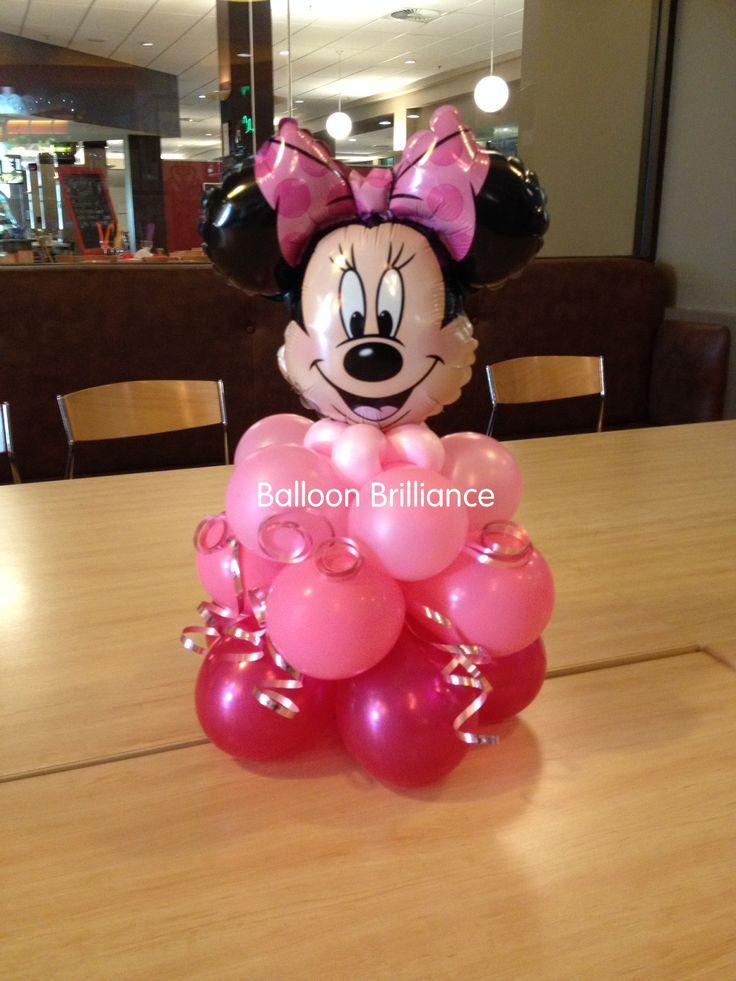 Blog de fiestas decoraci n con globos arco de minnie mouse for Decoracion de globos para fiestas infantiles paso a paso