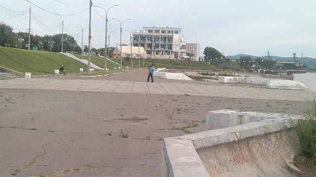 Речной вокзал Комсомольска на Амуре