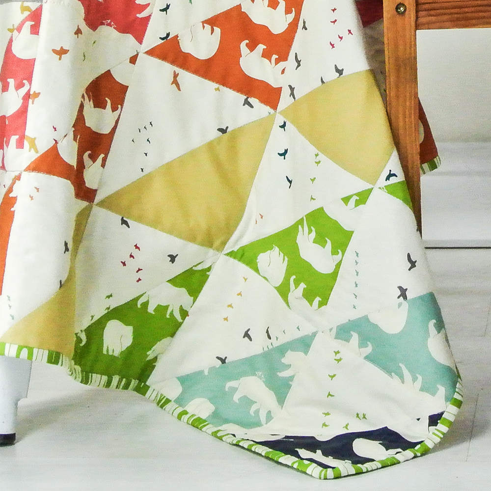 Tutorial | The Bear Necessities Quilt