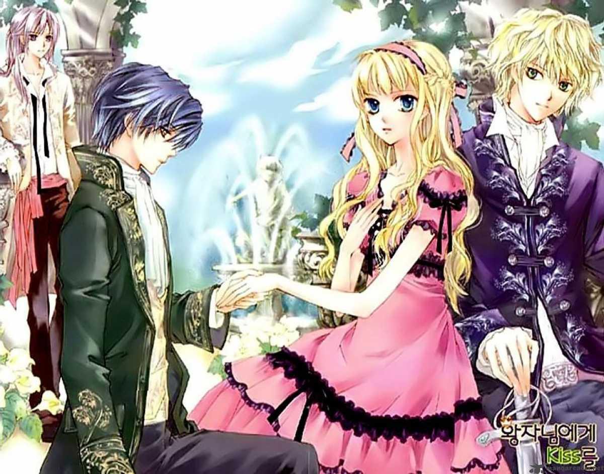 1 2 Prince Anime Characters : Anime manga dizi
