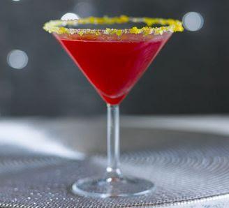 Christmas ... just around the corner !! Cranberry-margarita