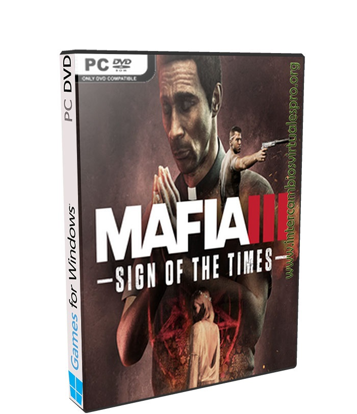 Mafia III Sign of the Times poster box cover