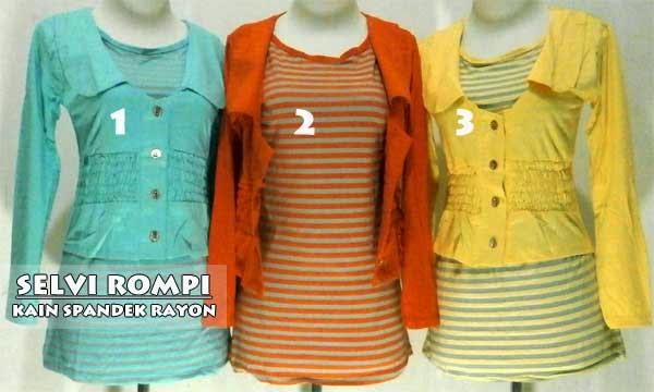 Model baju atasan wanita terbaru 2014
