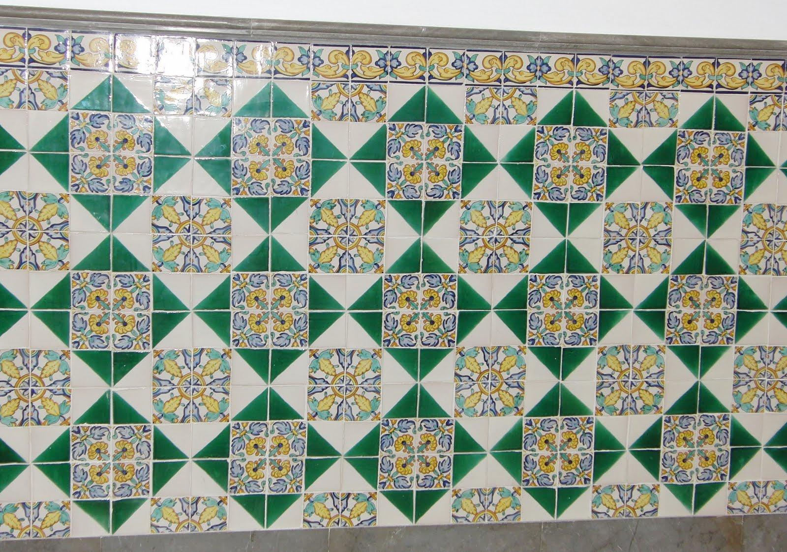 susannes sammelsurium azulejos sevillanos en antequera i. Black Bedroom Furniture Sets. Home Design Ideas