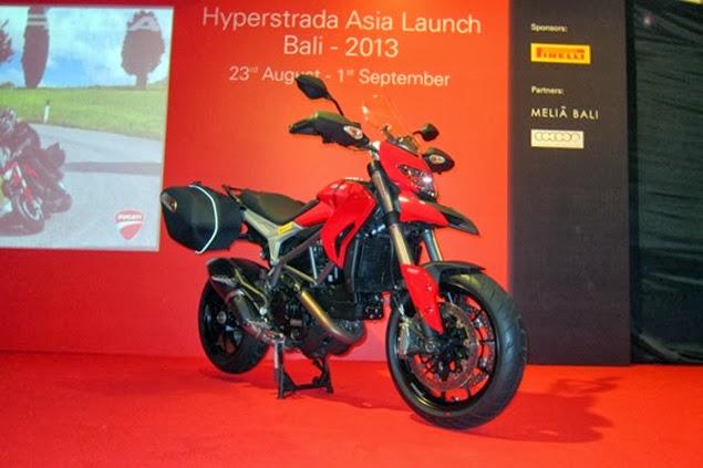 New Ducati Hyperstrada 2013