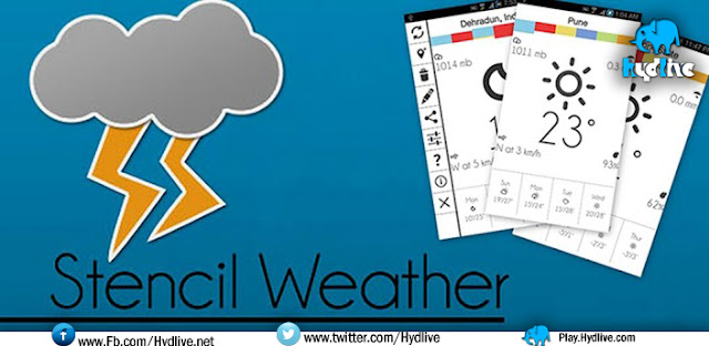 Stencil Weather 2.0.2 Apk Free Download