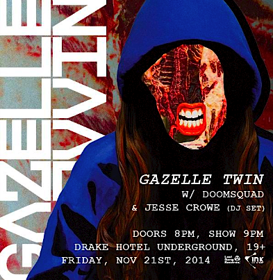 Gazelle Twin @ Drake Hotel, Friday