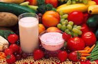 Fruit, vegetables, yogurt & such