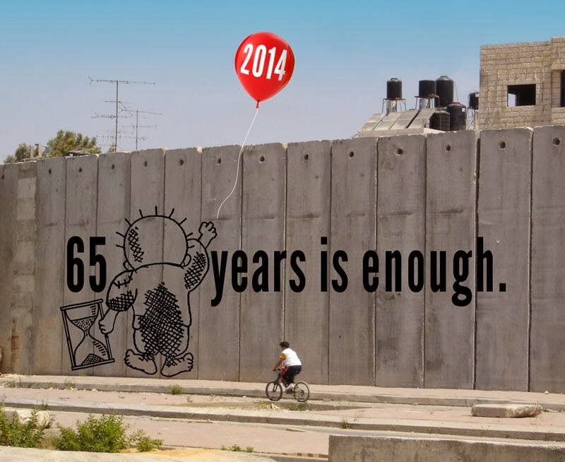 Illegal occupation is ENOUGH
