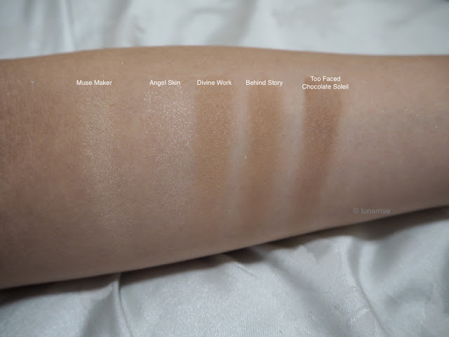PONY EFFECT THAT GIRL HOLIDAY LIMITED COLLECTION SET CONTOUR SWATCHES REVIEW Lunarrive Singapore Lifestyle Blog