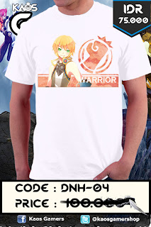 Kaos Dragon Nest Warrior Sign