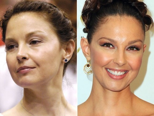 Ashley Judd sans maquillage