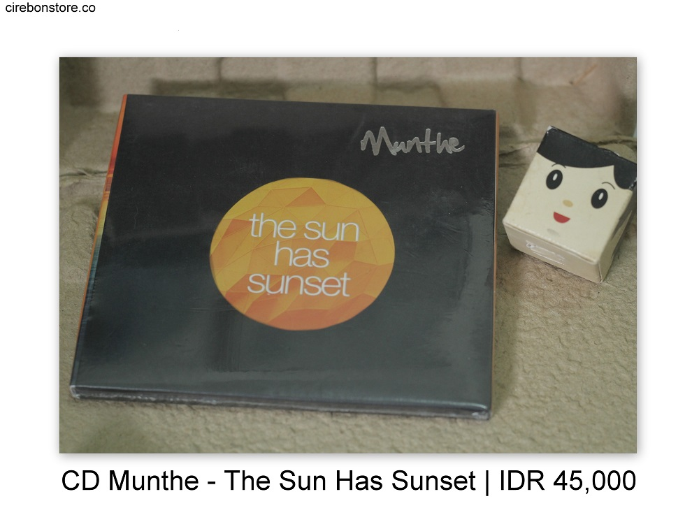 CD MUNTHE - THE SUN HAS SUNSET