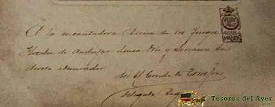 Caballero Calatrava, conde Torrejón, Adolfo de Valenzuela y Samaniego