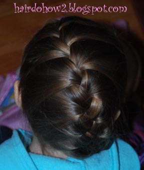 Hairdo how to lesson 51 variations on a french braid lesson 51 variations on a french braid ccuart Gallery