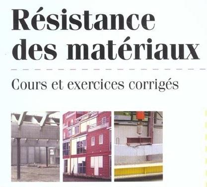 Cours Génie Civil - Résistance des Matériaux ~ University Science et Technologie