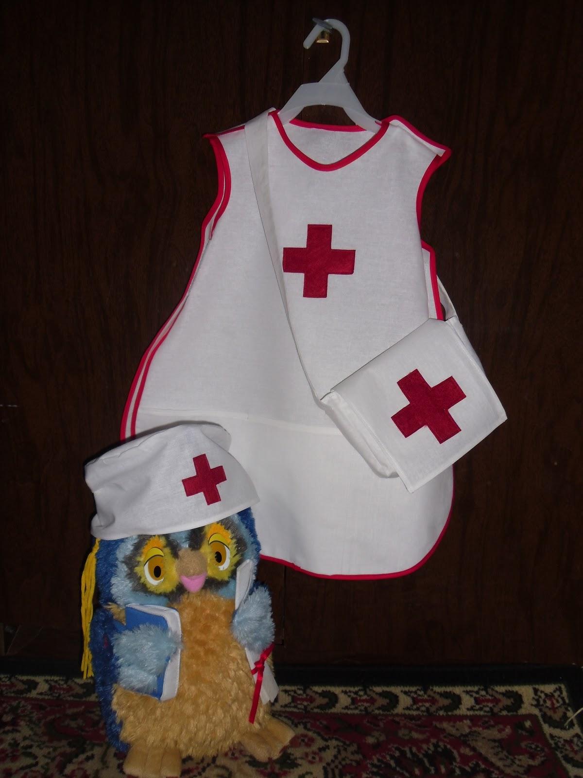 Выкройки костюма медсестры детский