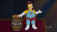 Los Simpsons- Capitulo 17 - Temporada 26 - Audio Latino - Esperando al Hombre Duff
