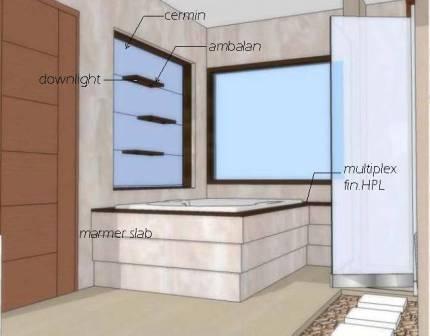 Gambar Desain Kamar Mandi Sederhana on Interior Kamar Mandi Sederhana  3    Desain Kamar
