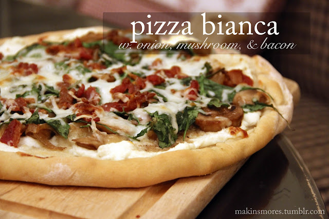 Pizza Bianca (And Some Tips on Portion Control)