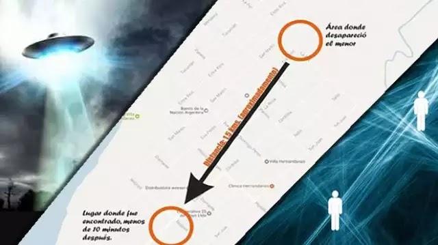 Ανεξήγητο περιστατικό  τηλεμεταφοράς αγοριού στην Αργεντινή!!!
