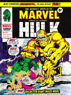 Mighty World of Marvel #173, Hulk vs Bi-Beast