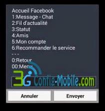 خدمة فيس بوك #600#
